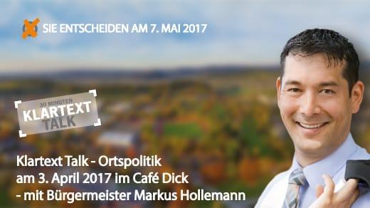 Klartext-Talk---Ortspolitik-am-3.-April-2017-im-Café-Dick---Bürgermeister-Markus-Hollemann