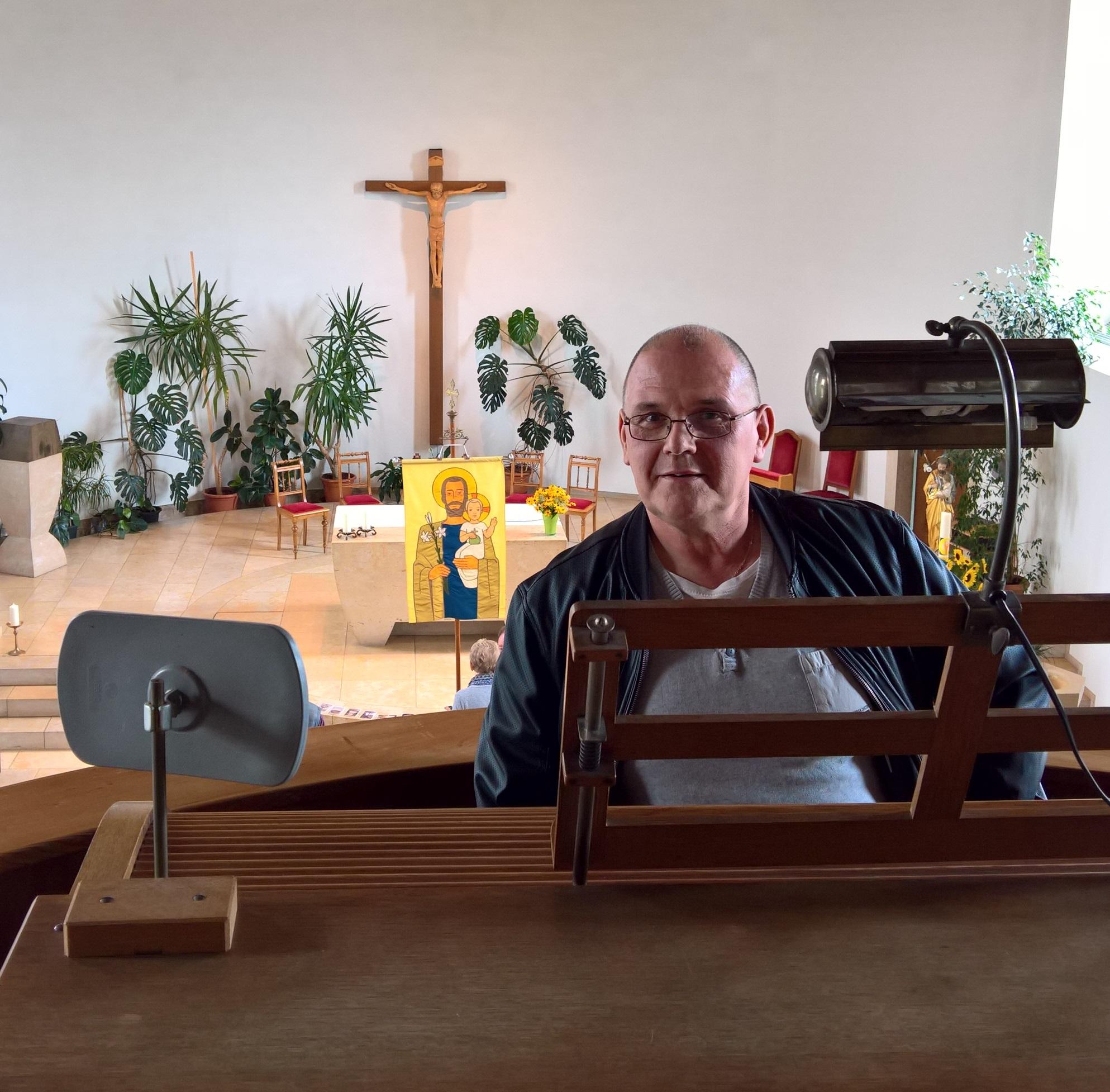 20170812_Organist und Komponist Jörg-Andreas Lippuner - Markus Hollemann
